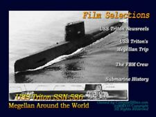 Navy Submarine Story SSRN-586 USS Triton -- Magellan around the World
