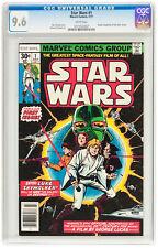 STAR WARS #1 CGC NM+ 9.6 Luke Skywalker Obi Wan Kenobi Darth Vader