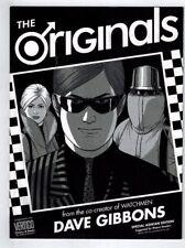 Originals Special Ashcan Edition Preview Dave Gibbons Watchmen Vertigo NM