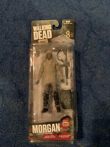 "McFarlane toys The Walking Dead "" Morgan"" Figure Series 8 Toy Cool Weapons"