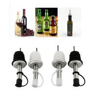 Set of 12 Choice Translucent Universal Liquor Pourer Cover BPA free