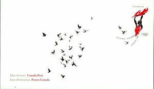 Canada FDC#2281 - Athlete and Flag (2008) 52¢
