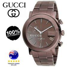 Gucci Men's G-Chrono Watch Quartz Sapphire Crystal YA101341 RRP $1,999