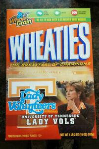 Vintage Wheaties Sealed University of Tennessee LADY VOLUNTEERS