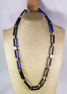 Colorful Modern Rectangle Chain Womens Necklace Fashion Costume Jewelry jxa8 New