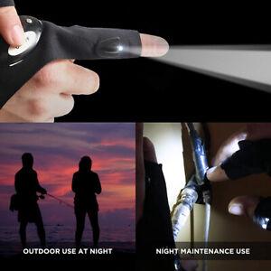 LED Flashlights Gloves, Cool Gadgets for Men Handyman, Fishing, Campinp,service