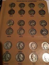 1932P-1995P WASHINGTON QUARTER COIN SET P,D,S COMPLETE HQ 1932D 1932S SILVER