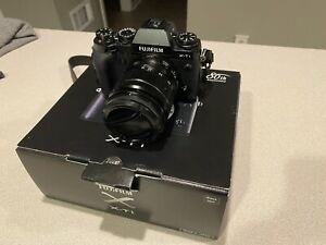 Used Fujifilm Fuji X-T1 + XF18-55mm F/2.8-4 R LM OIS Lens Kit (Black) Free Ship!