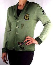 PLEASE J434 Blazer Jacke Neu Gr.M Made in Italy Grün
