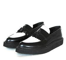 SAINT LAURENT platform creeper sole Hedi Slimane derby shoes tassel loafers 40