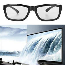 Circular Polarized Passive 3D Glasses Stereo For 3D TV Real D IMAX Cinemas Black