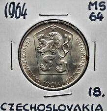 1964 Czechoslovakia 10 Korun MS-64