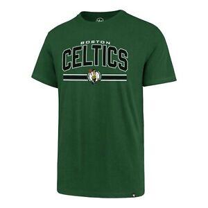 Boston Celtics NBA Super Arch/ Super Rival T-Shirt XL/'47Brand/Kelly Green/NWT