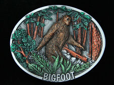 QG09126 *NOS* VINTAGE 1978 **BIGFOOT** COMMEMORATIVE PEWTER BELT BUCKLE