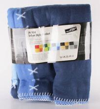 James & Nicholson Couverture Polaire Urbain Style Blanket Jn954 Bleu 150 X 200