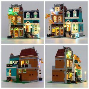 Led Light Kit For 10270 Creator Expert Bookshop Building Blocks