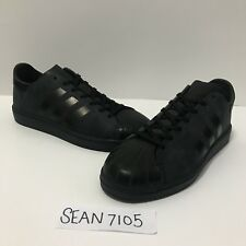 ADIDAS x Futurecraft (Only 50 Made) Superstar II Milled Black US Mens sz 9NEW