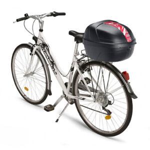 GIVI Fahrrad Topcase 25 l. inklusive Universal-befestigungs Kit auf Gepäckträger