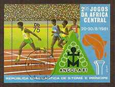 Sao Tome and Principe 1981 Central Africa Games souvenir sheet