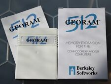 Commodore 64 & 128 GEORAM 512 RAM Expansion Unit by Berkeley Softworks