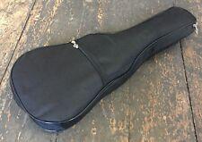 Padded Soprano Ukulele Black Gig Bag Soft Case With Back Straps