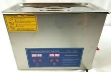 Sunnex 6L Ultrasonic Cleaner Stainless Steel Industry Heater w/Timer Jewelry Lab