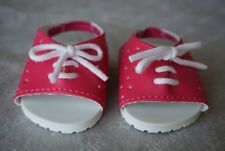"""American Girl 18"""" doll Open Toed/Open Back Sneakers New are Rare and Htf!"""