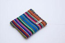Manta Inka Design Coins Clip Bag Peru Hand Woven  (UK) Wool Colourful Kapriche