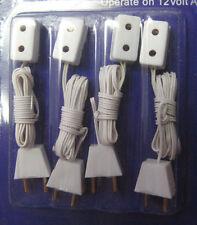 Heidi Ott Pack de cuatro extensiones única de Casa de Muñecas de enchufes tomas de corriente eléctrica