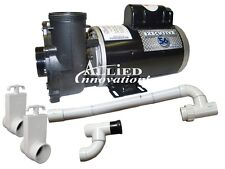 Waterway - Cal Spas Dually Pump Replacement Package - 4.0HP, 230V, 2-SPEED, 60HZ