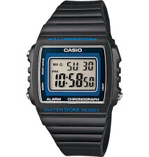 New Genuine CASIO W215H-8A DIGITAL SPORTS Unisex Quartz Watch 50M Alarm Grey