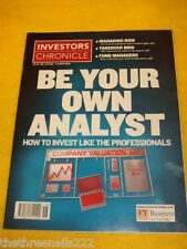 INVESTORS CHRONICLE - BE YOUR OWN ANALYST - MAY 2 2003