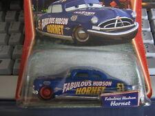 DISNEY PIXAR CARS FABULOUS HUDSON HORNET SUPERCHARGED RED RIMS