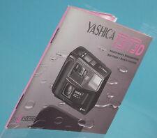 Yaschica T3/T3 D Bedienungsanleitung manual livre libro - (11916)