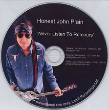HONEST JOHN PLAIN Never Listen To Rumours UK 1-trk promo CD The Boys
