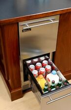 "Perlick 15"" Indoor fridge w/stainless drawers HP15RS-3-5 CALL FOR QUOTE!"