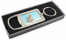 Devon Rex Kitten 'Love You Mum' Chrome Metal Bottle Opener Keyring, AC-174lymMBO