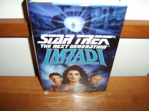SIGNED  STAR TREK   IMZADI   PETER DAVID  1ST HC/DJ  BRAND NEW