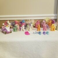 Vintage Lot of 17 My Little Pony Hasbro Toys-G1 1983, 1987, 1989 & G3 2002-2013