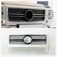 White Grill Grille For M-Benz G Class W463 G63 G550 G500 G350 AMG Style DN