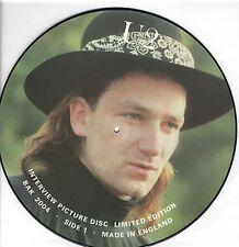 "U2 Interview Picture Disc  Uk 12"""