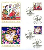 Frg 1998: Christmas! FDC Der No. 2023 +2024 With Bonner Ersttagsstempeln! 20-07