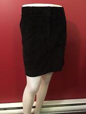 VINEYARD VINES Women's Black Corduroy Skirt - Size 10 - EUC