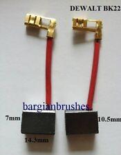 CARBON BRUSHES fits B&D Black & Decker 144689 2261 2652 13.2v & 14.4v drill D25
