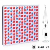 Roleadro Lamparas Led Cultivo Interior Grow Light 75W con Temporizador Para Foco