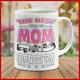 Mug The Best Kid of Mom Raises a Barista Bartender Barman Barwoman Waiter Mugs