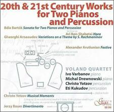 Voland Quartet: 20th & 21st Century Works for Two Pianos and Perussion, New Musi