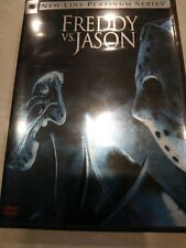 Freddy Vs Jason New Line Platinum Series 2 disc collectors edition Dvd pre-owned