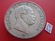 Brandenburg Preussen 1861 A Vereinstaler Wilhelm I. 1861-1888 Silver Taler ss/vz