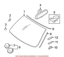 For BMW Genuine Interior Rear View Mirror Front 51169134459
